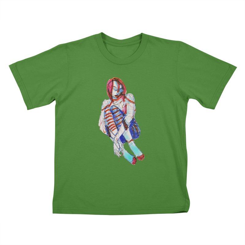 Bare Bones Kids T-shirt by dasiavou's Artist Shop