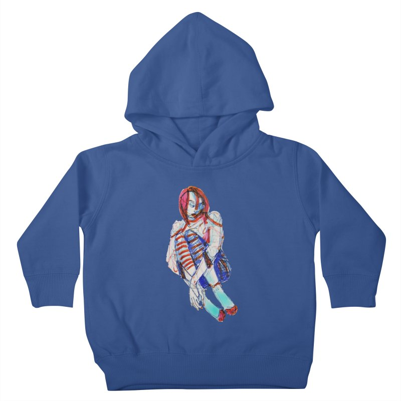 Bare Bones Kids Toddler Pullover Hoody by dasiavou's Artist Shop