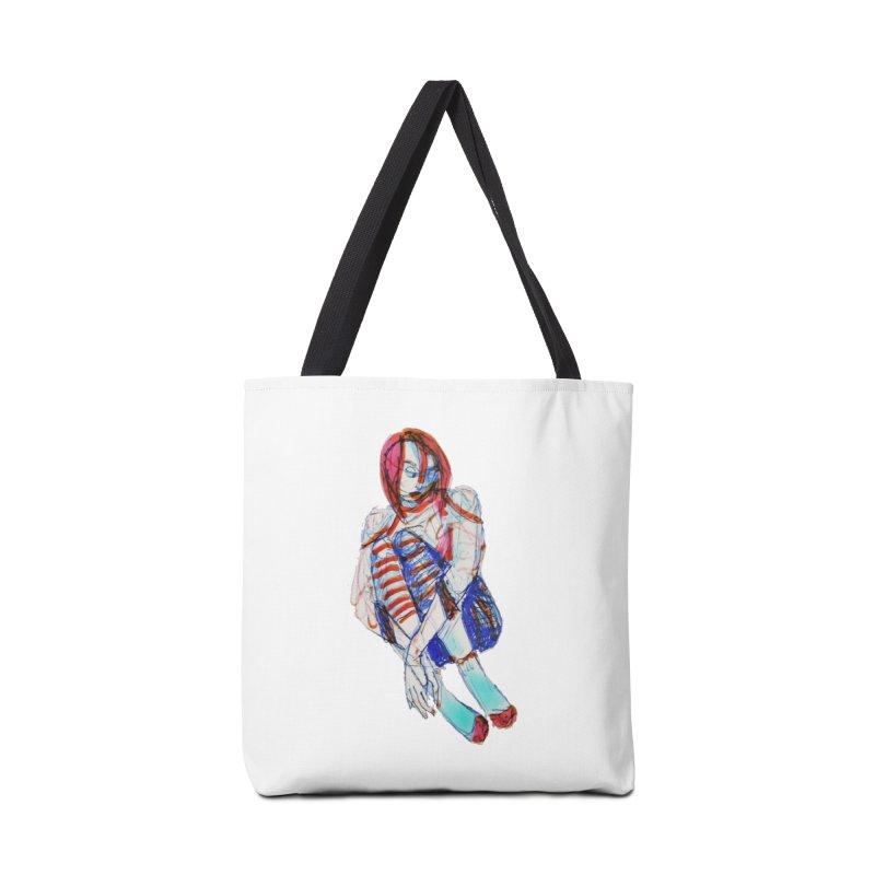 Bare Bones Accessories Bag by dasiavou's Artist Shop