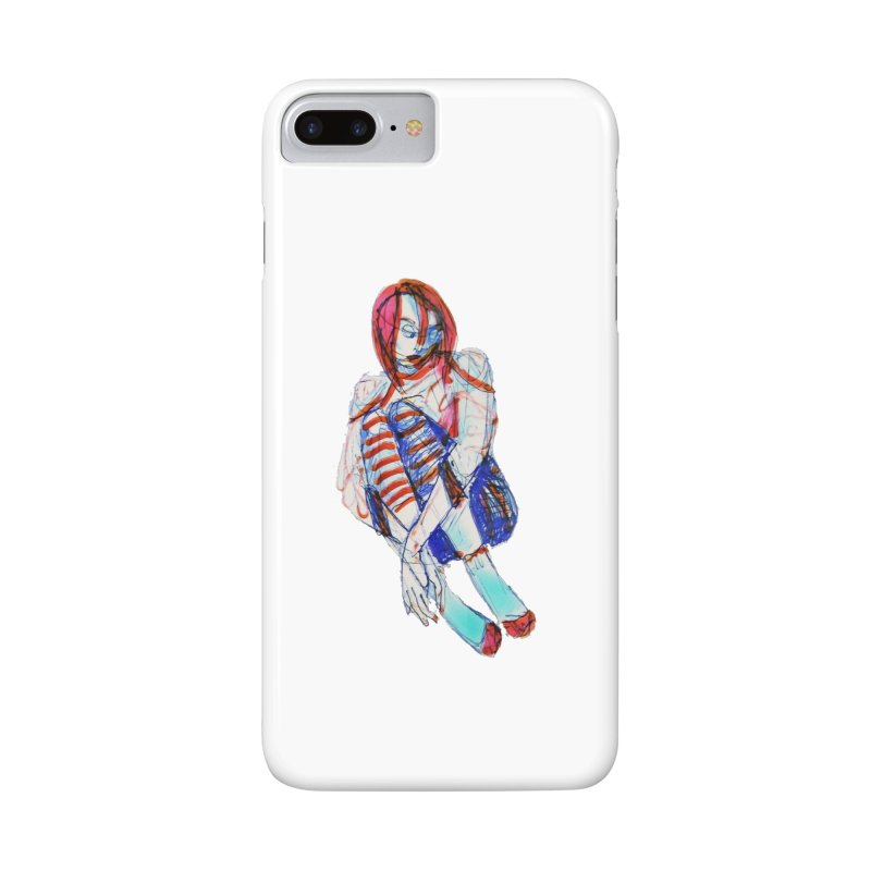 Bare Bones Accessories Phone Case by dasiavou's Artist Shop