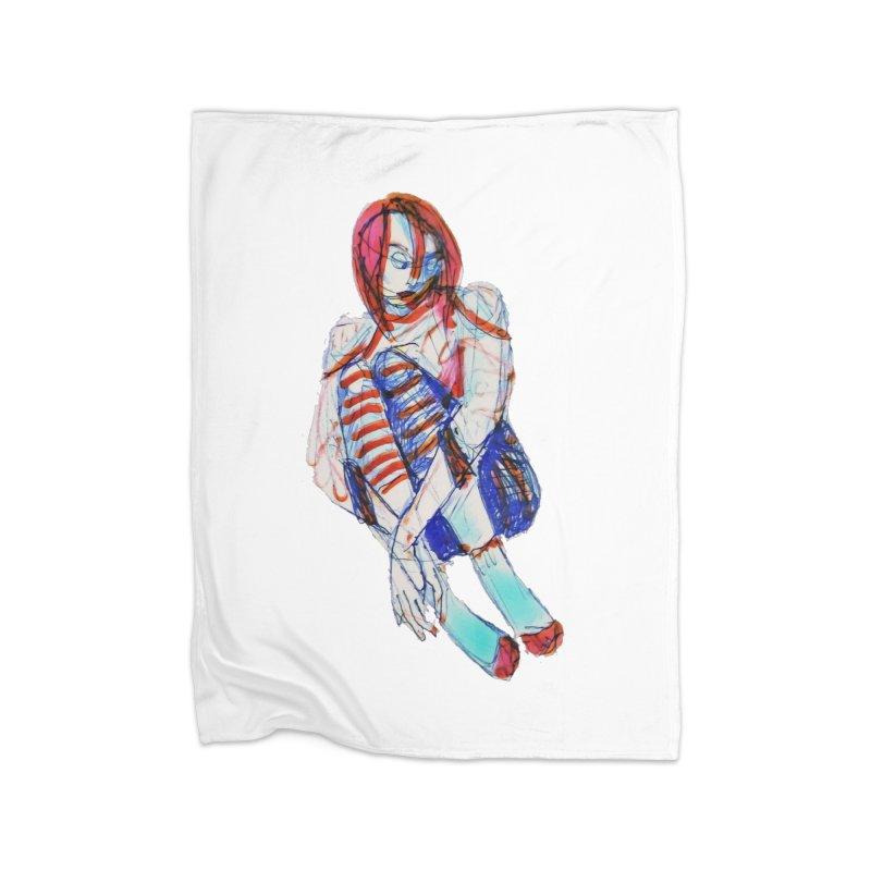 Bare Bones Home Blanket by dasiavou's Artist Shop