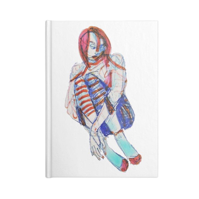 Bare Bones Accessories Notebook by dasiavou's Artist Shop