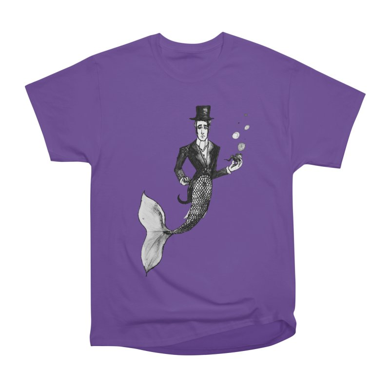 MerGentleman Men's Classic T-Shirt by dasiavou's Artist Shop