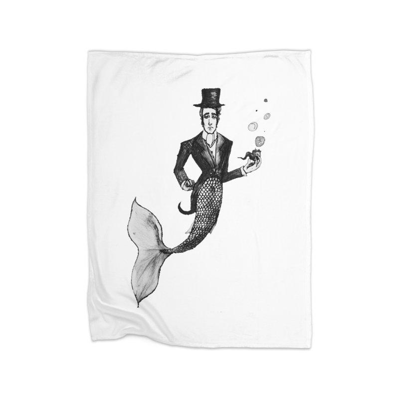 MerGentleman Home Blanket by dasiavou's Artist Shop