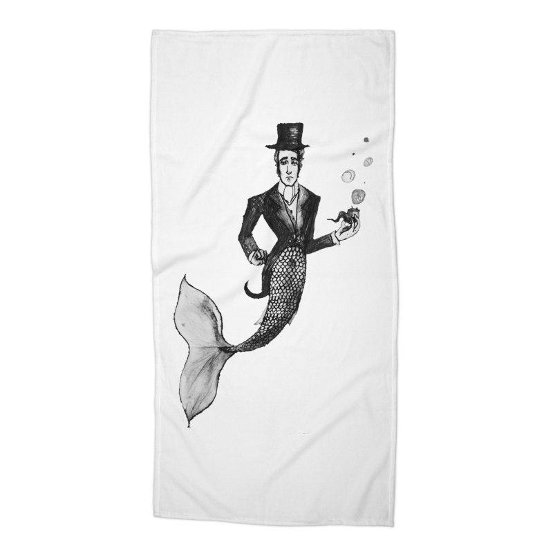 MerGentleman Accessories Beach Towel by dasiavou's Artist Shop