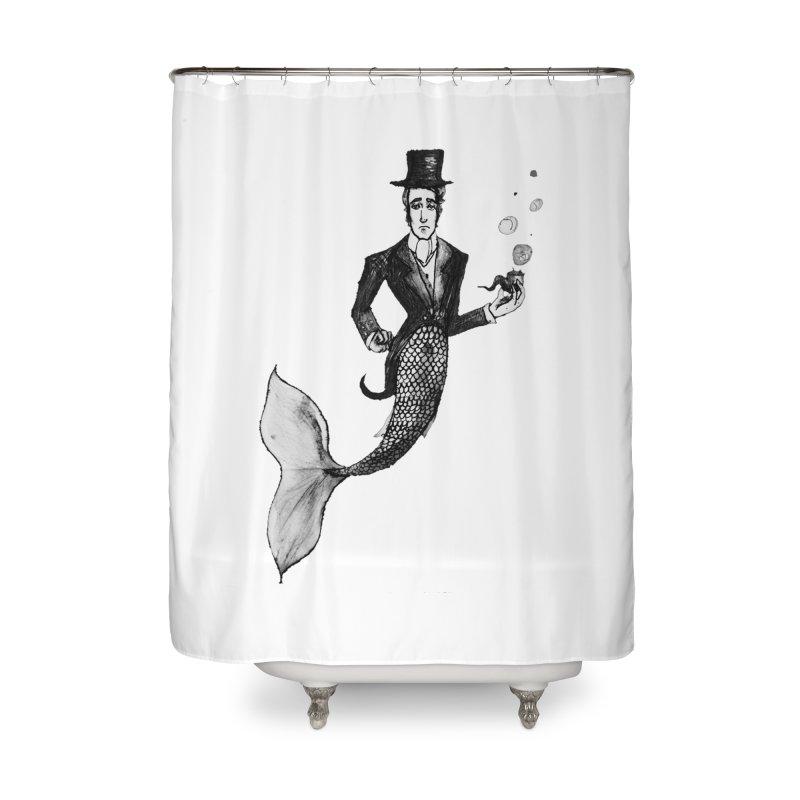 MerGentleman Home Shower Curtain by dasiavou's Artist Shop