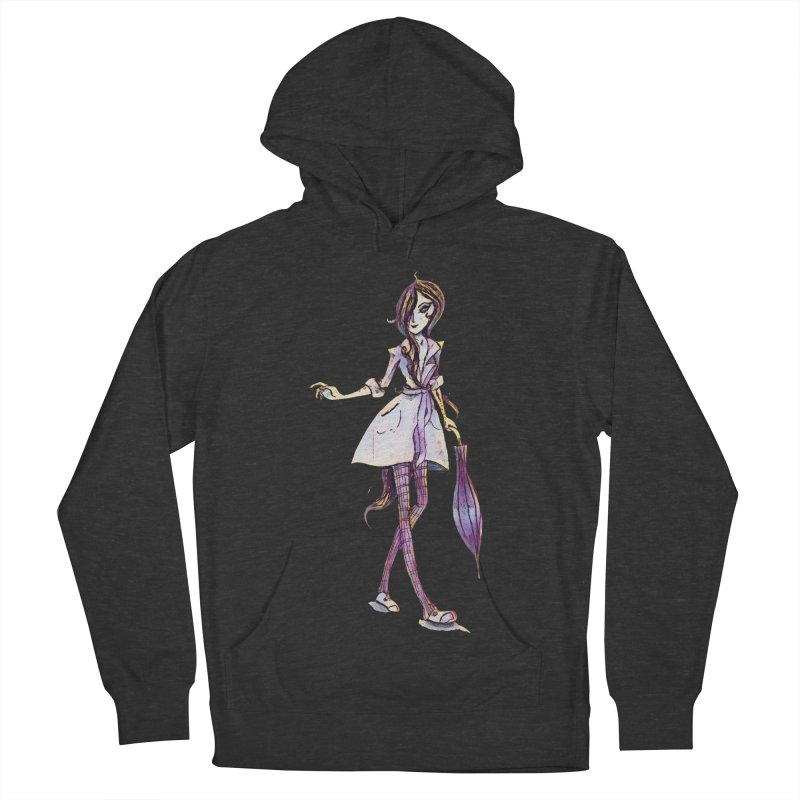 Rainy Day Women's Pullover Hoody by dasiavou's Artist Shop