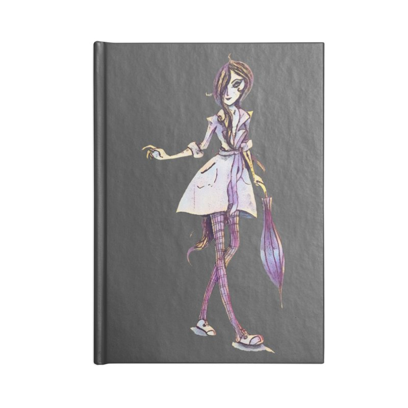 Rainy Day Accessories Notebook by dasiavou's Artist Shop