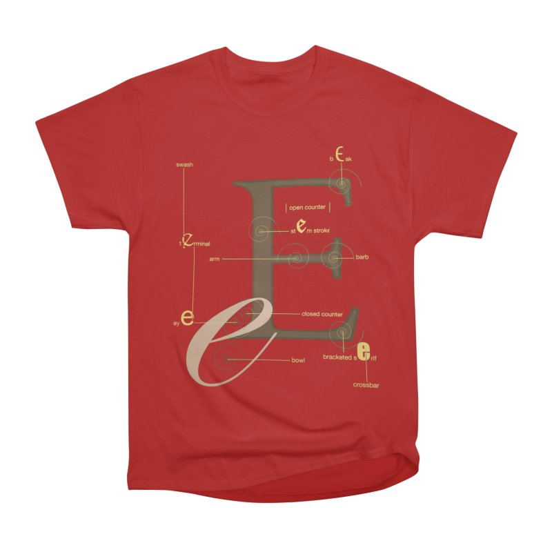 Letter of the Day Men's Classic T-Shirt by dasiavou's Artist Shop