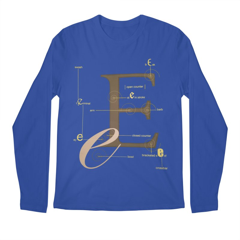 Letter of the Day Men's Longsleeve T-Shirt by dasiavou's Artist Shop