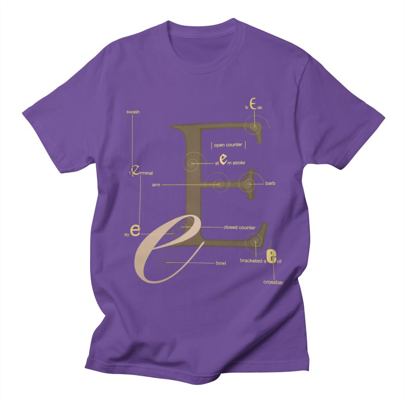 Letter of the Day Women's Unisex T-Shirt by dasiavou's Artist Shop