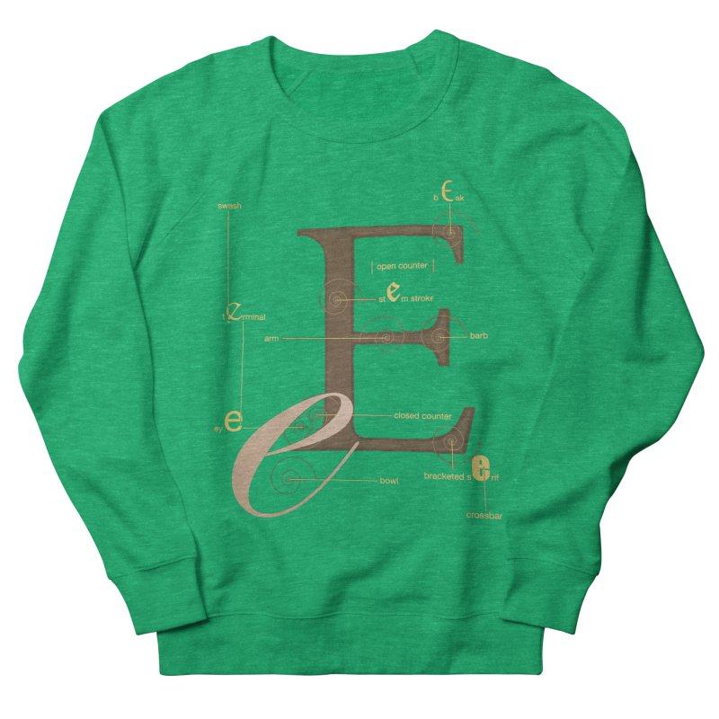 Letter of the Day Men's Sweatshirt by dasiavou's Artist Shop