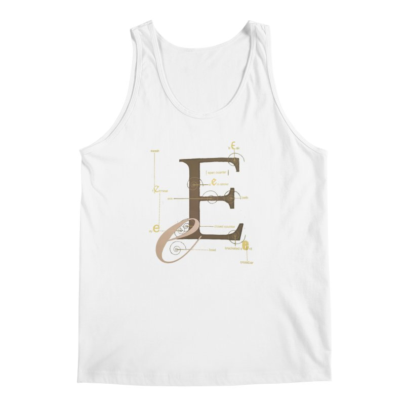 Letter of the Day Men's Tank by dasiavou's Artist Shop