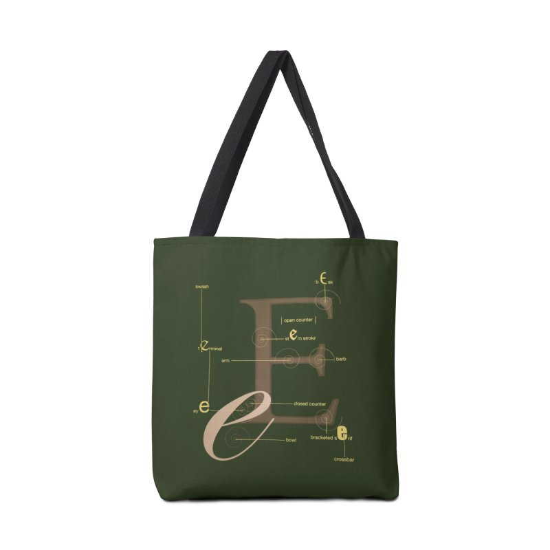 Letter of the Day Accessories Bag by dasiavou's Artist Shop