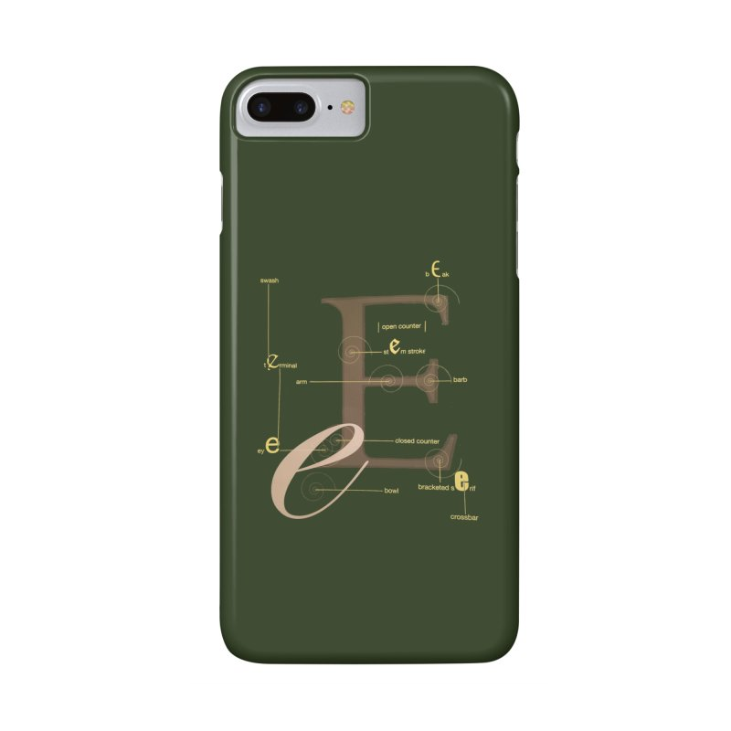 Letter of the Day Accessories Phone Case by dasiavou's Artist Shop