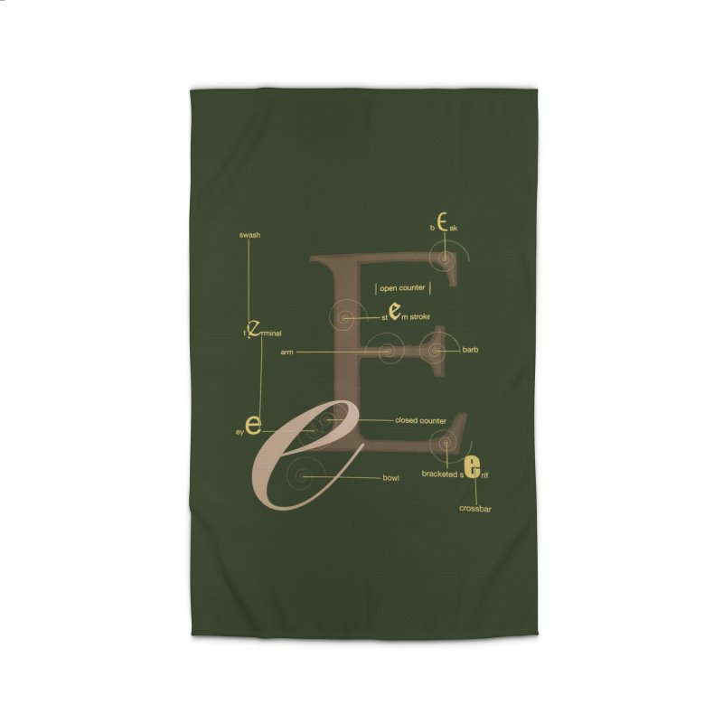 Letter of the Day Home Rug by dasiavou's Artist Shop