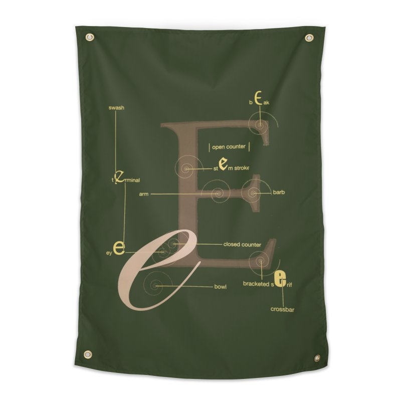 Letter of the Day Home Tapestry by dasiavou's Artist Shop
