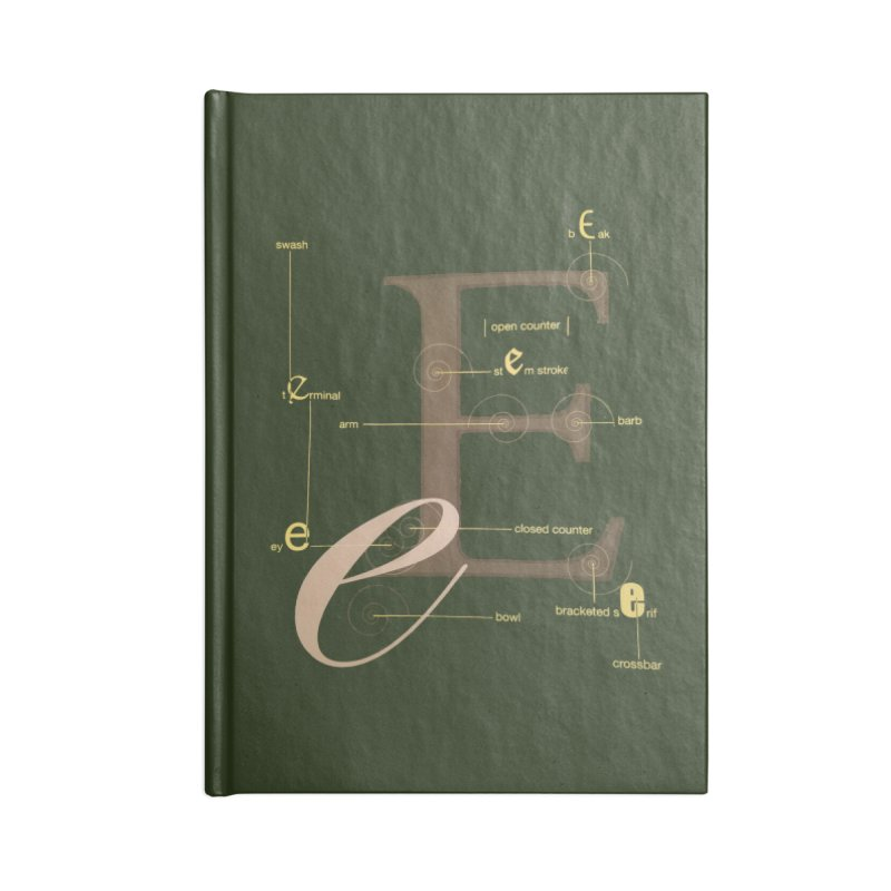 Letter of the Day Accessories Notebook by dasiavou's Artist Shop