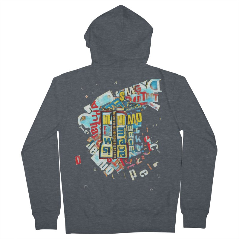 Time & Relative Dimension in Space Men's Zip-Up Hoody by dasiavou's Artist Shop