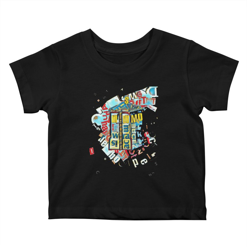 Time & Relative Dimension in Space Kids Baby T-Shirt by dasiavou's Artist Shop