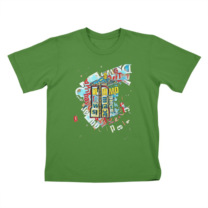 Time & Relative Dimension in Space Kids T-shirt by dasiavou's Artist Shop