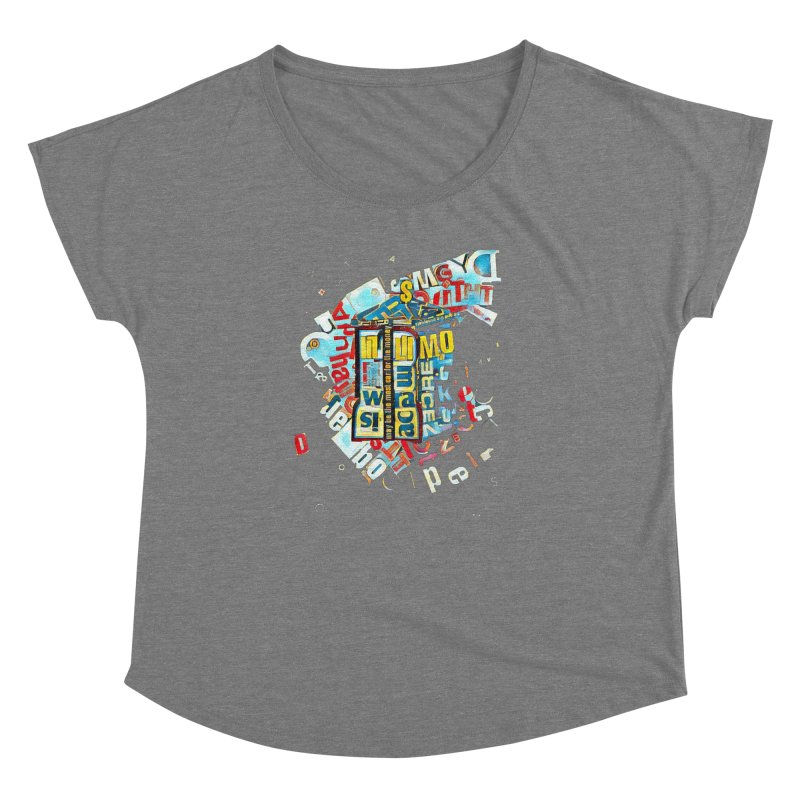 Time & Relative Dimension in Space Women's Dolman by dasiavou's Artist Shop