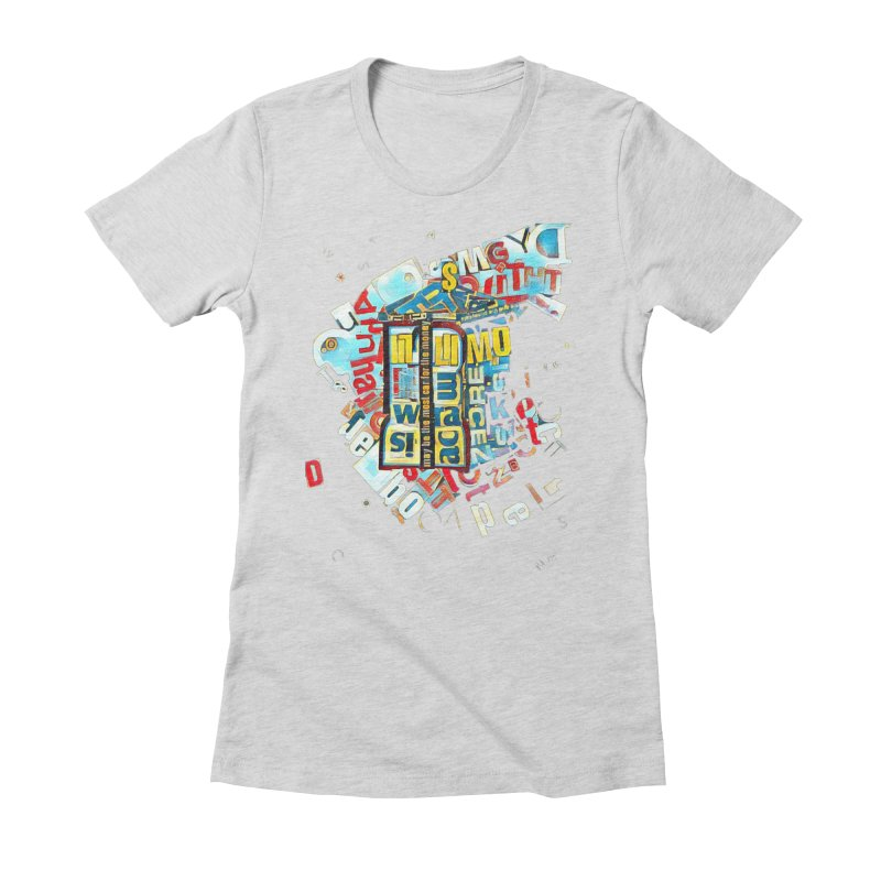 Time & Relative Dimension in Space Women's Fitted T-Shirt by dasiavou's Artist Shop