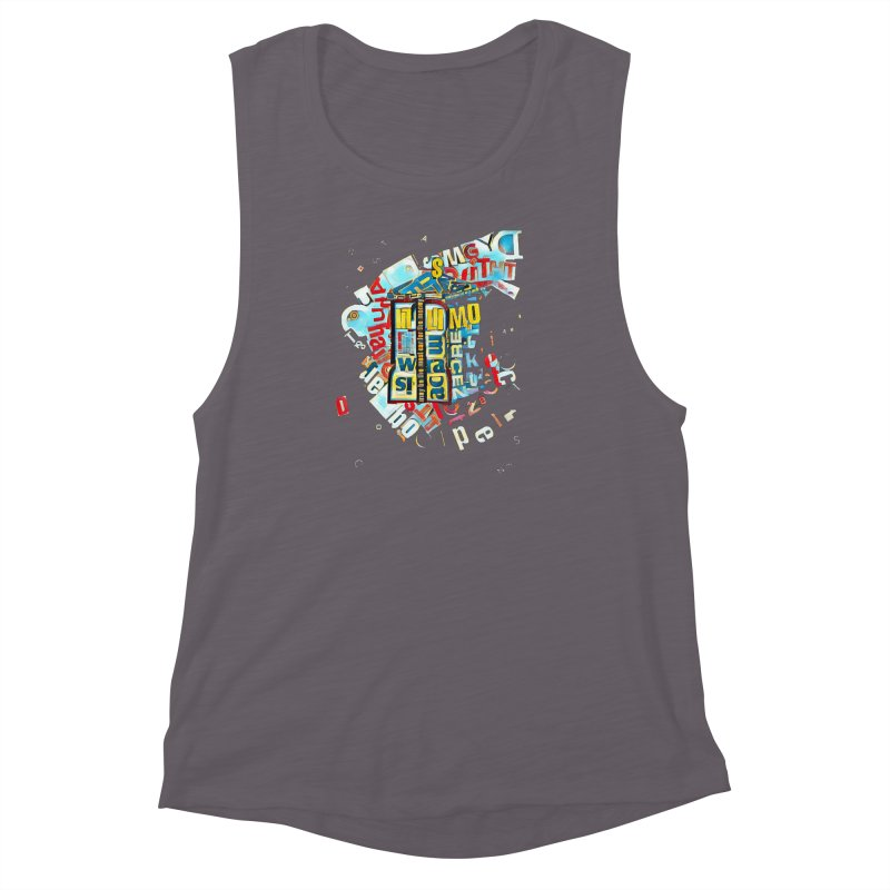 Time & Relative Dimension in Space Women's Muscle Tank by dasiavou's Artist Shop