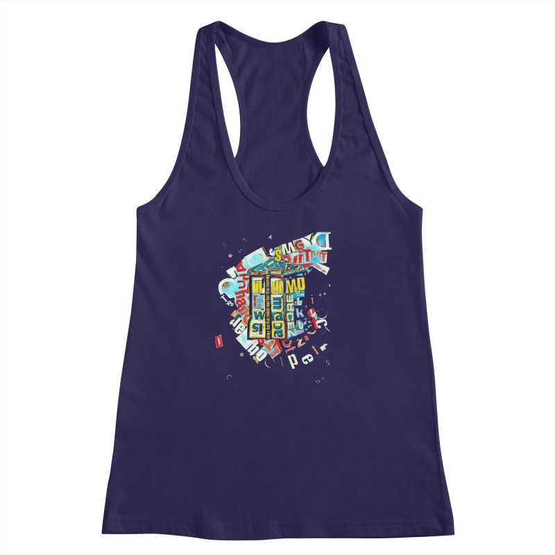 Time & Relative Dimension in Space Women's Racerback Tank by dasiavou's Artist Shop