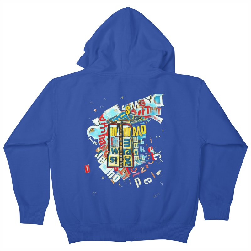 Time & Relative Dimension in Space Kids Zip-Up Hoody by dasiavou's Artist Shop