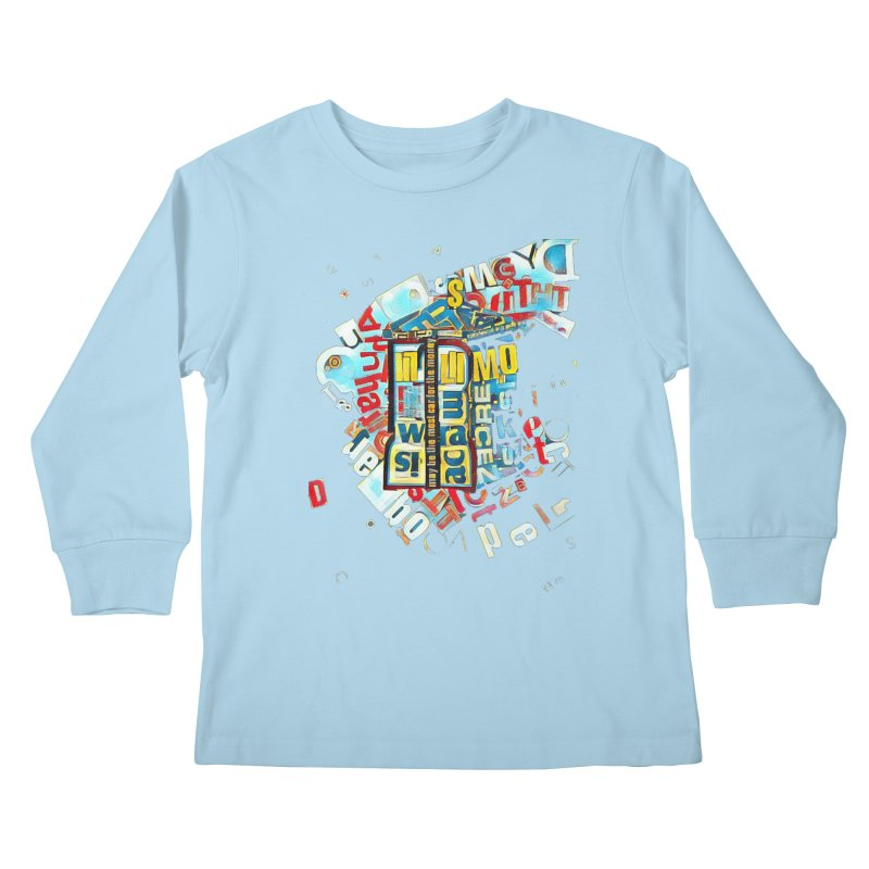 Time & Relative Dimension in Space Kids Longsleeve T-Shirt by dasiavou's Artist Shop