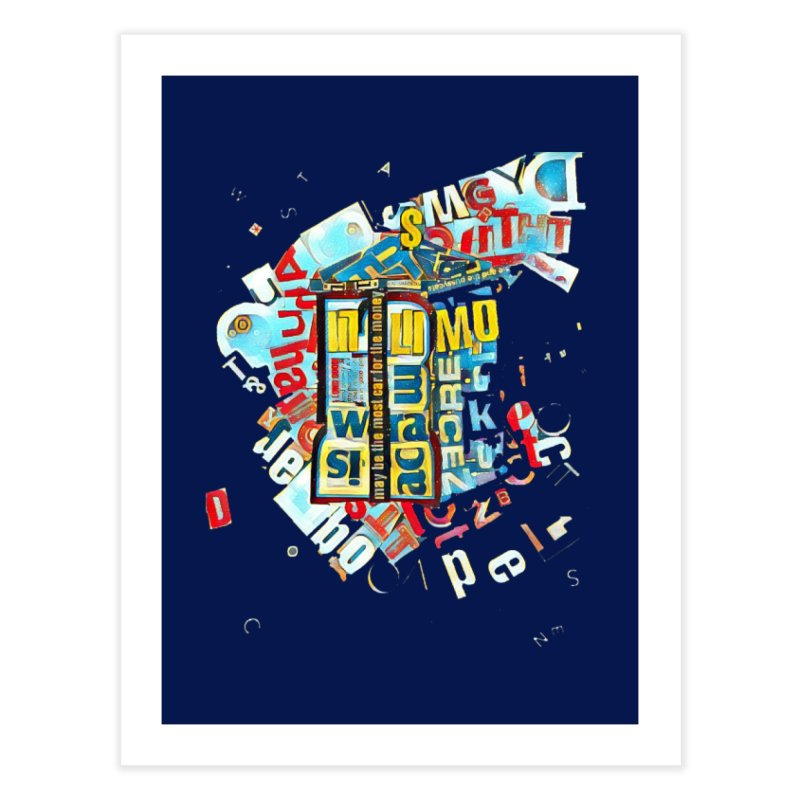 Time & Relative Dimension in Space Home Fine Art Print by dasiavou's Artist Shop