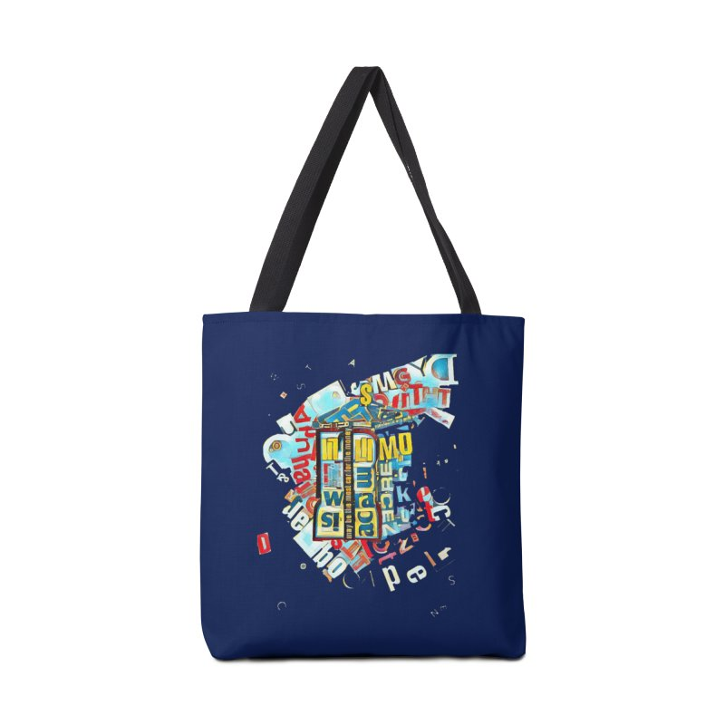 Time & Relative Dimension in Space Accessories Bag by dasiavou's Artist Shop