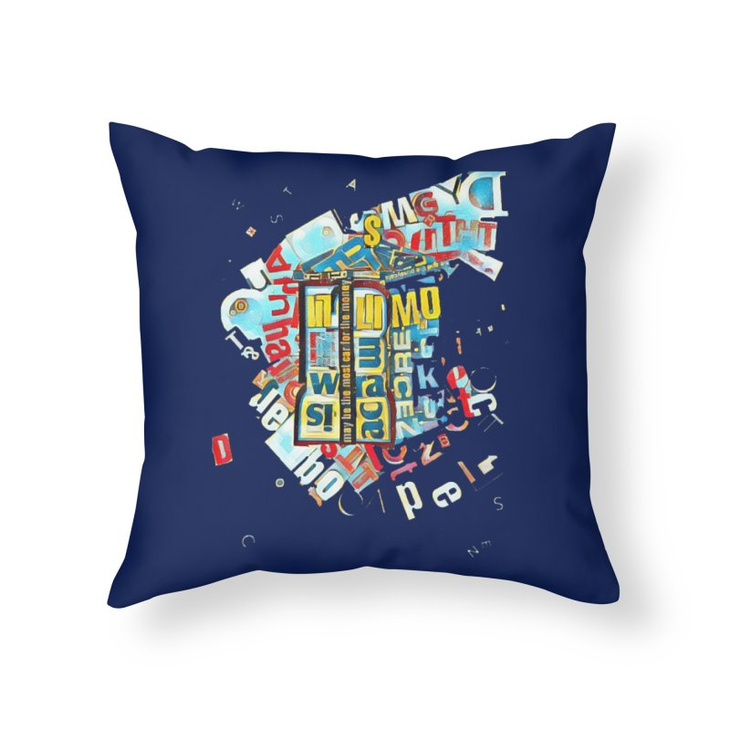 Time & Relative Dimension in Space Home Throw Pillow by dasiavou's Artist Shop