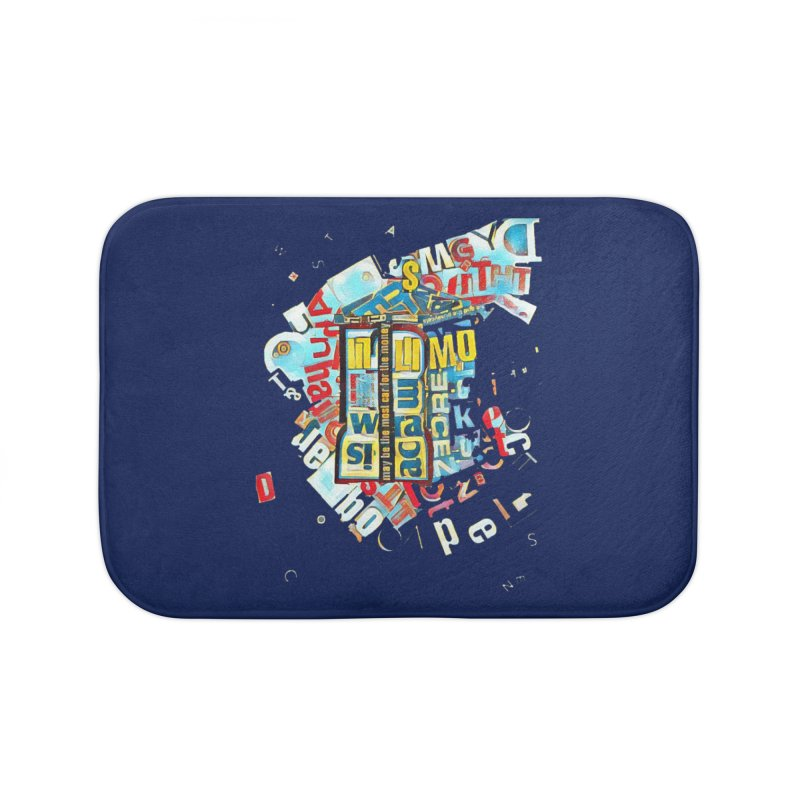 Time & Relative Dimension in Space Home Bath Mat by dasiavou's Artist Shop