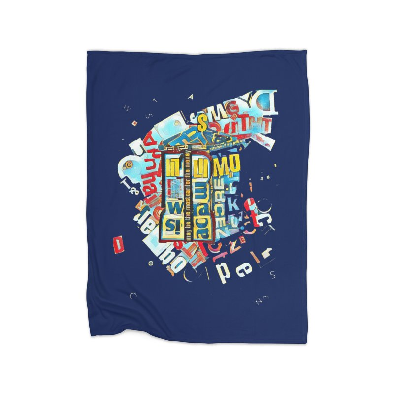 Time & Relative Dimension in Space Home Blanket by dasiavou's Artist Shop
