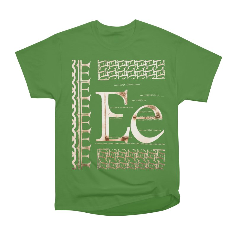 Eee Women's Classic Unisex T-Shirt by dasiavou's Artist Shop