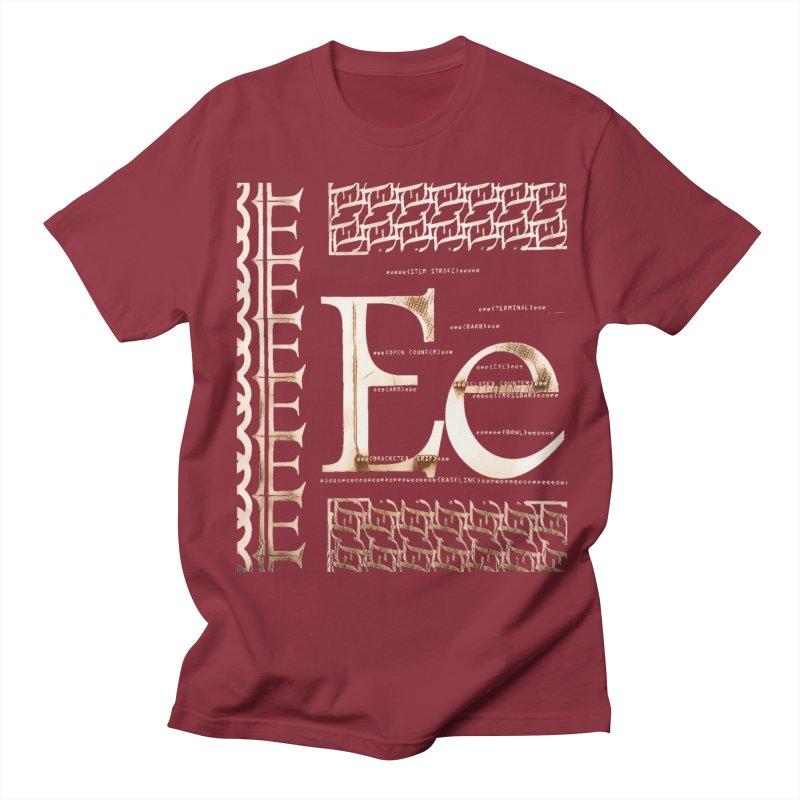 Eee Men's T-shirt by dasiavou's Artist Shop