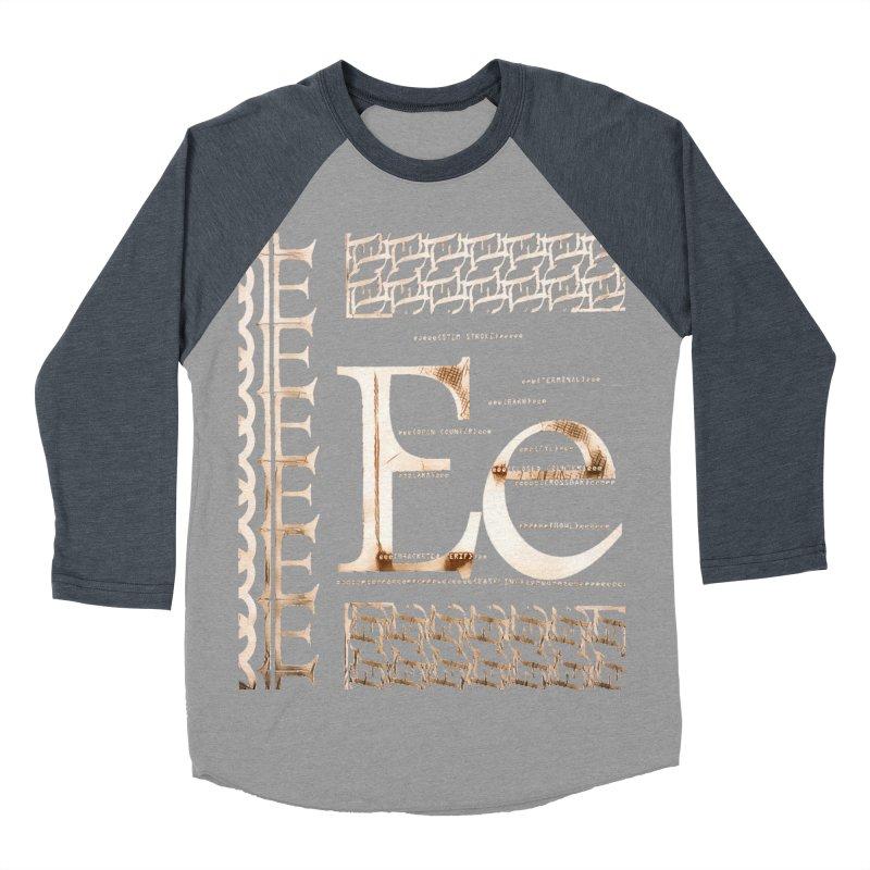 Eee Women's Baseball Triblend Longsleeve T-Shirt by dasiavou's Artist Shop