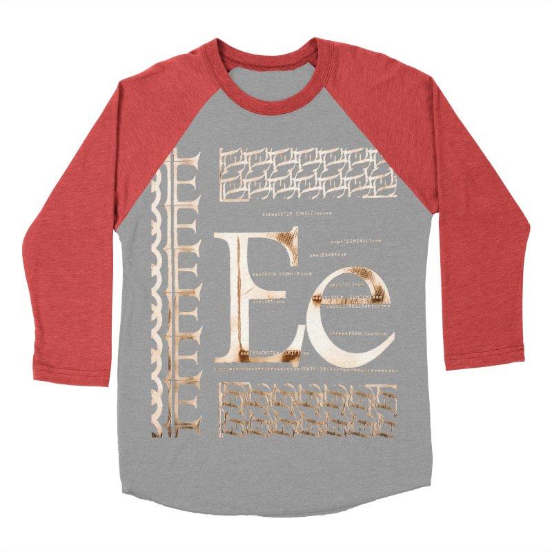 Eee Men's Baseball Triblend T-Shirt by dasiavou's Artist Shop