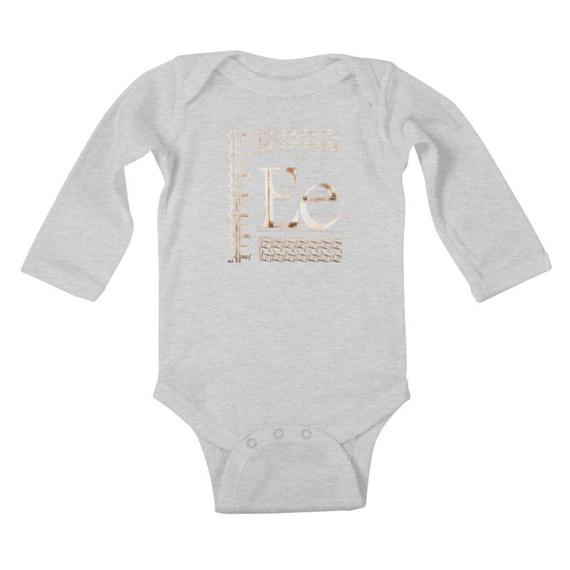 Eee Kids Baby Longsleeve Bodysuit by dasiavou's Artist Shop