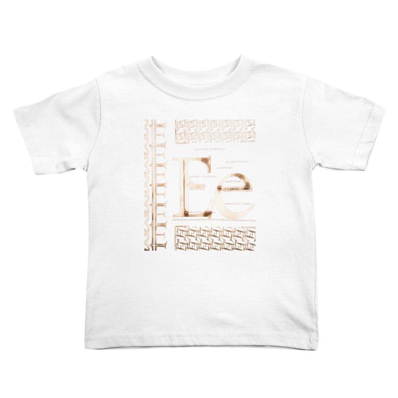 Eee Kids Toddler T-Shirt by dasiavou's Artist Shop