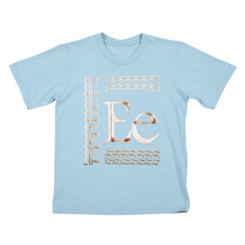 Eee Kids T-Shirt by dasiavou's Artist Shop