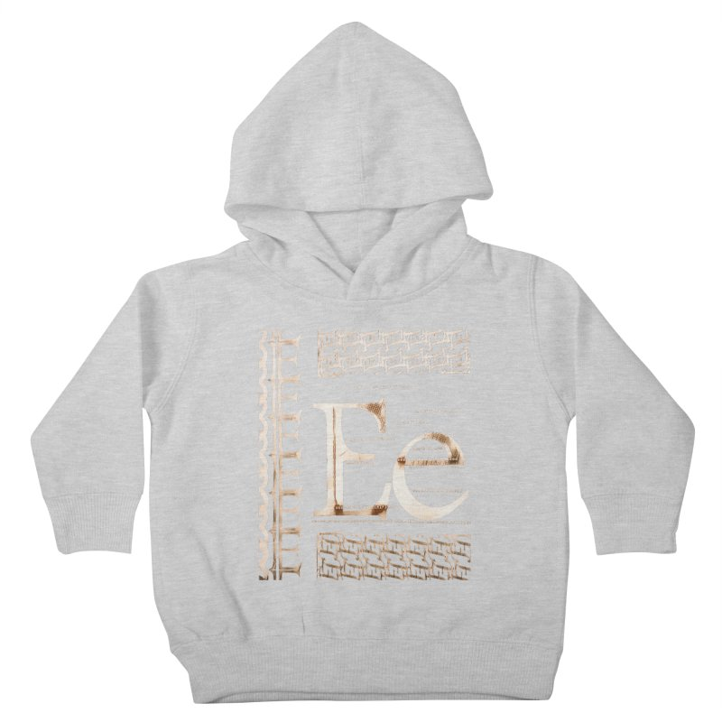 Eee Kids Toddler Pullover Hoody by dasiavou's Artist Shop