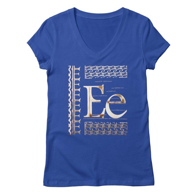 Eee Women's V-Neck by dasiavou's Artist Shop