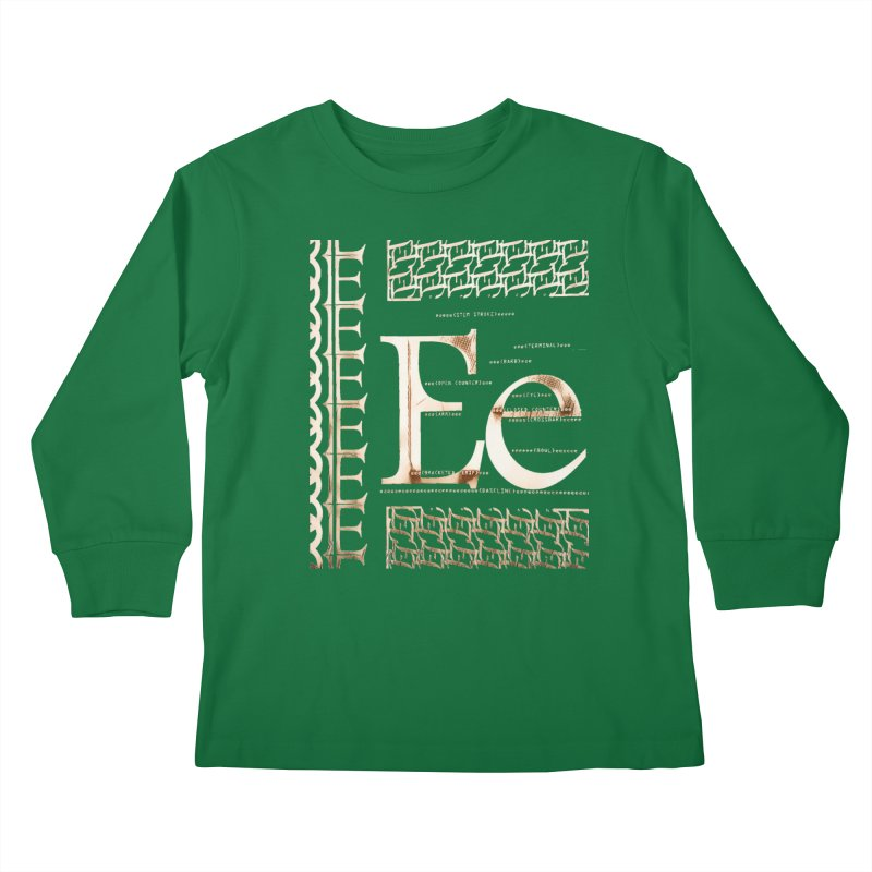 Eee Kids Longsleeve T-Shirt by dasiavou's Artist Shop