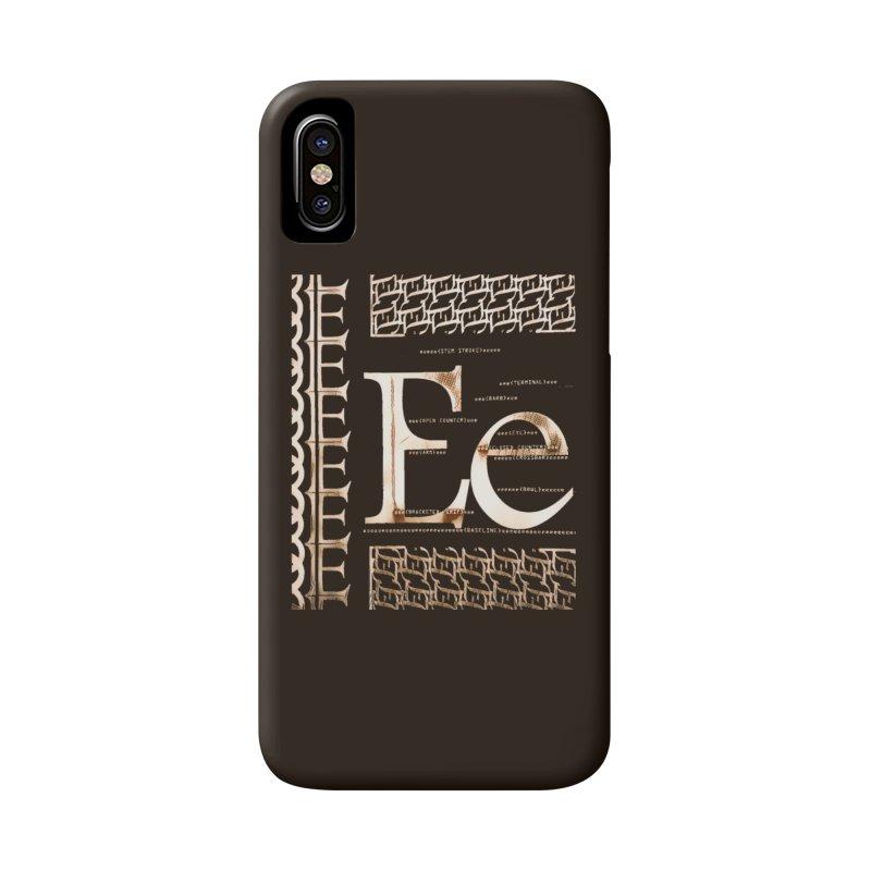 Eee Accessories Phone Case by dasiavou's Artist Shop