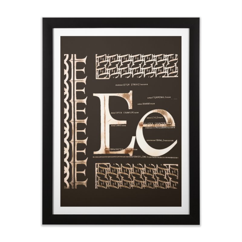 Eee Home Framed Fine Art Print by dasiavou's Artist Shop