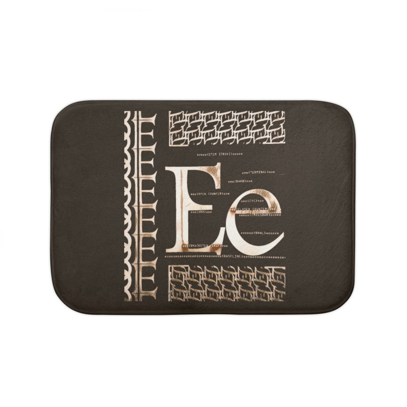 Eee Home Bath Mat by dasiavou's Artist Shop