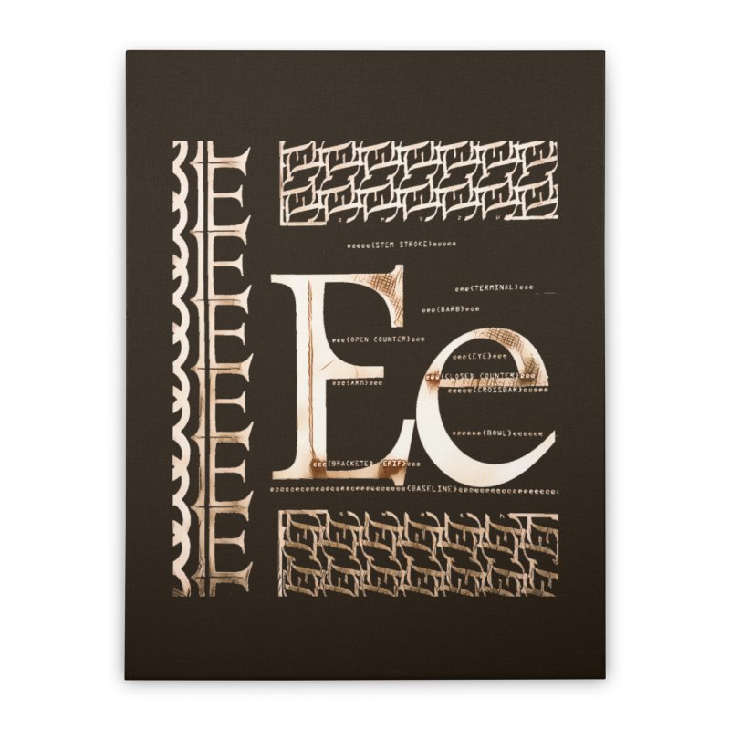 Eee Home Stretched Canvas by dasiavou's Artist Shop
